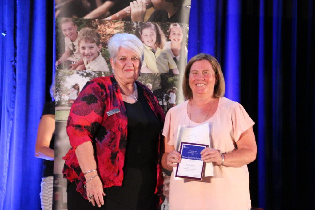 Nerida Receiving an Award